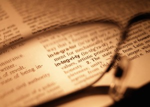 integrity, congruity