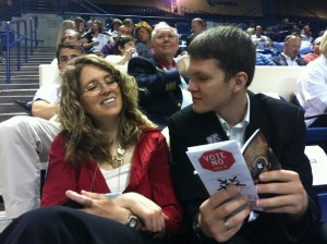 Marnie and Caleb at the Georgia Republican Convention