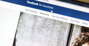 Facebook advertising analysis