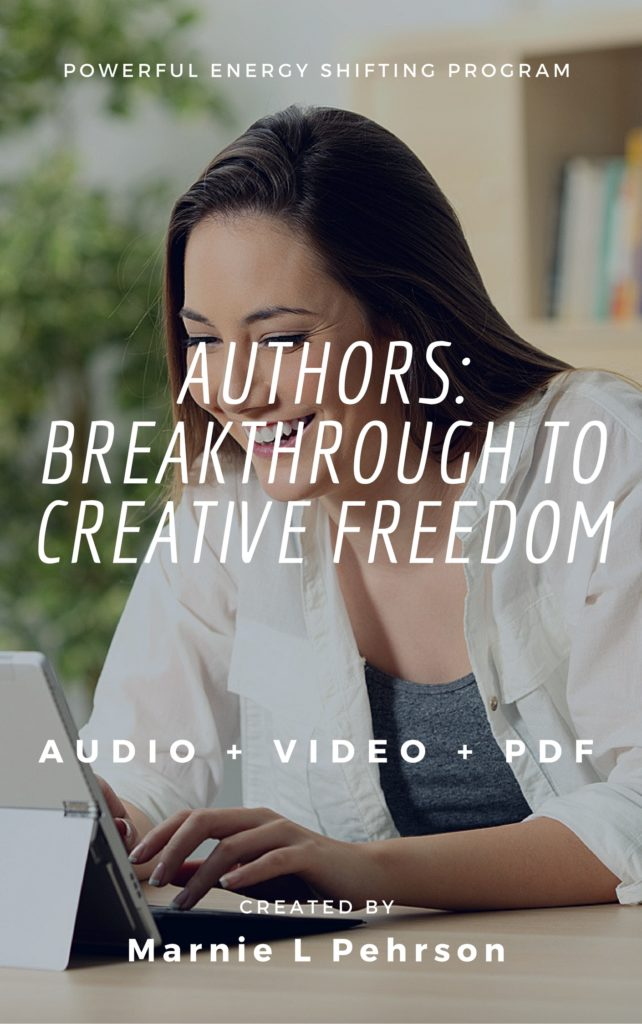 author breakthrough to creative freedom